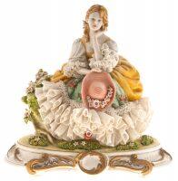 "Статуэтка  Porcellane Principe ""Дама с шляпой"""