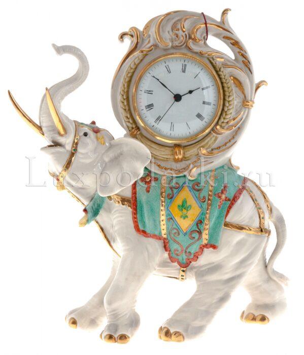 """Часы  Porcellane Principe """"Слон"""" - 0"""