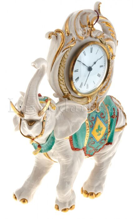 """Часы  Porcellane Principe """"Слон"""" - 1"""