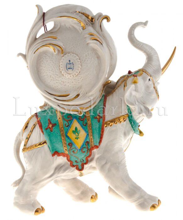 """Часы  Porcellane Principe """"Слон"""" - 2"""