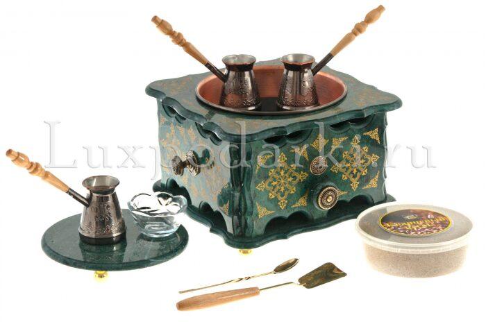 """Кофейный набор из мрамора """"Султан""""- 0"""