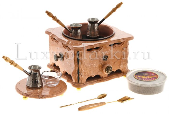 "Кофейный набор из мрамора ""Шейх""- 0"