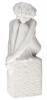 """Статуэтка - знак зодиака  Royal Copenhagen """"Дева"""" , белый- 0"""