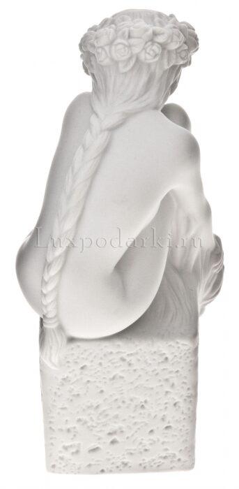 """Статуэтка - знак зодиака  Royal Copenhagen """"Дева"""" , белый- 2"""