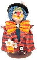 "Скульптура-бюст  Zampiva ""Клоун в котелке с цветком"""