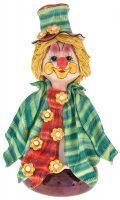 "Скульптура-бюст  Zampiva ""Клоун в цилиндре с цветком"""