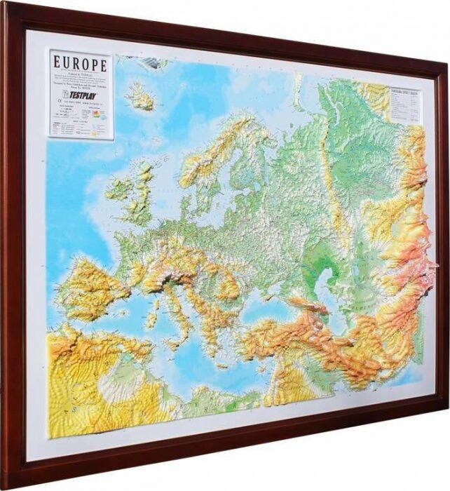 """Высокообъемная панорама """"Европа""""- 0"""