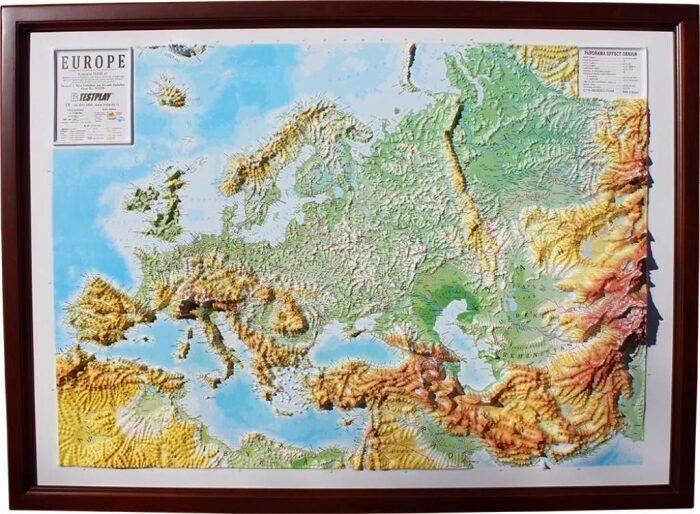 """Высокообъемная панорама """"Европа""""- 1"""