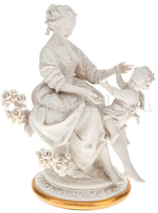 """Статуэтка  Porcellane Principe """"Материнство"""" . Прекрасный подарок для родителей.- 0"""