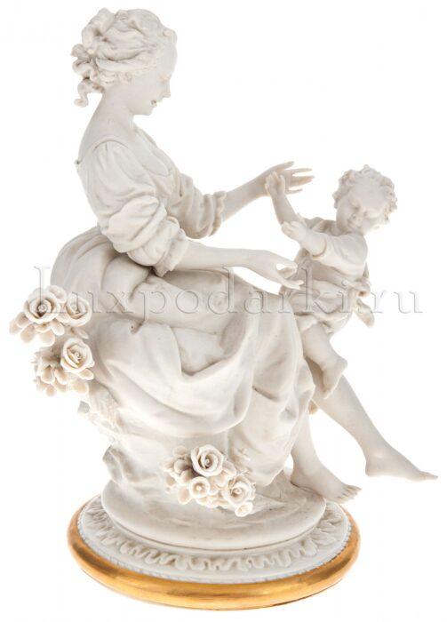 """Статуэтка  Porcellane Principe """"Материнство"""" . Прекрасный подарок для родителей.- 1"""