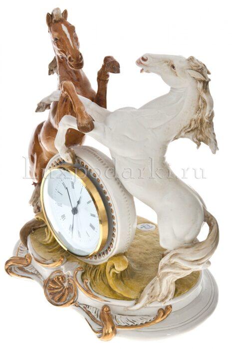 """Часы  Porcellane Principe """"Кони"""" , цвет: разноцветный - 1"""