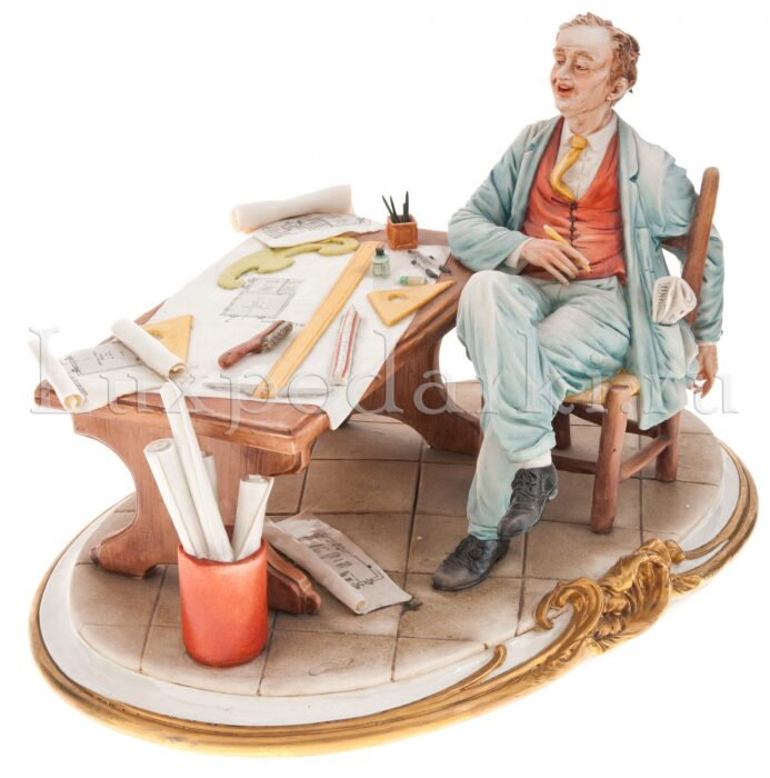"Статуэтка  Porcellane Principe ""Архитектор"" - 0"