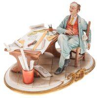 "Статуэтка  Porcellane Principe ""Архитектор"""