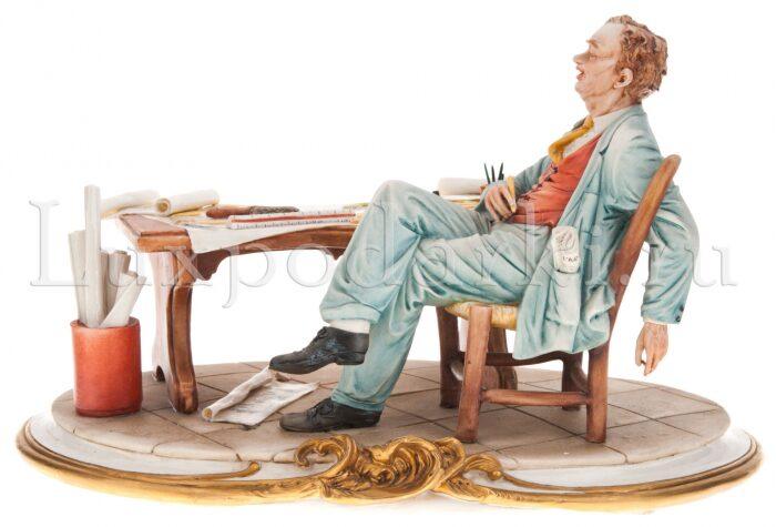 "Статуэтка  Porcellane Principe ""Архитектор"" - 1"