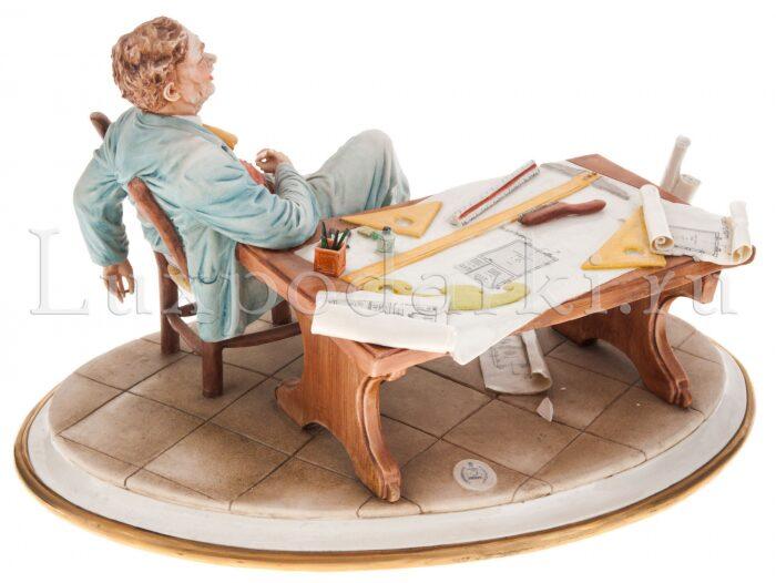 "Статуэтка  Porcellane Principe ""Архитектор"" - 2"