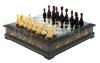 Шахматный ларец из янтаря (морёный дуб)- 0
