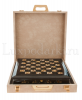 Шахматный ларец из янтаря (морёный дуб)- 1