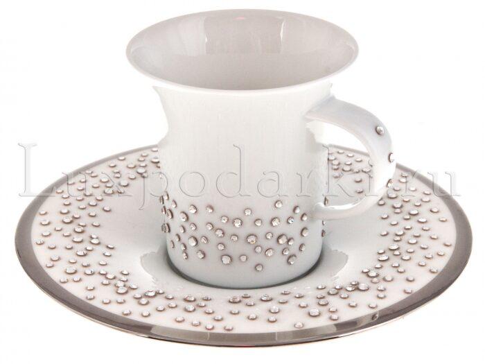 """Кофейный набор для кофе-эспрессо  Manufacture de Monaco """"Свадьба""""  на 2 персоны, белый- 1"""