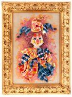 """Картина прямоугольная  Zampiva """"Клоун с бубенчиками"""""""