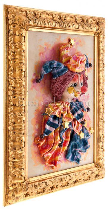 """Картина прямоугольная  Zampiva """"Клоун с бубенчиками""""- 1"""