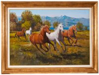 """Картина  Art Atelier """"Лошади""""  Lombardo"""