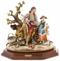 """Статуэтка  Porcellane Principe """"Счастливая семья"""""""