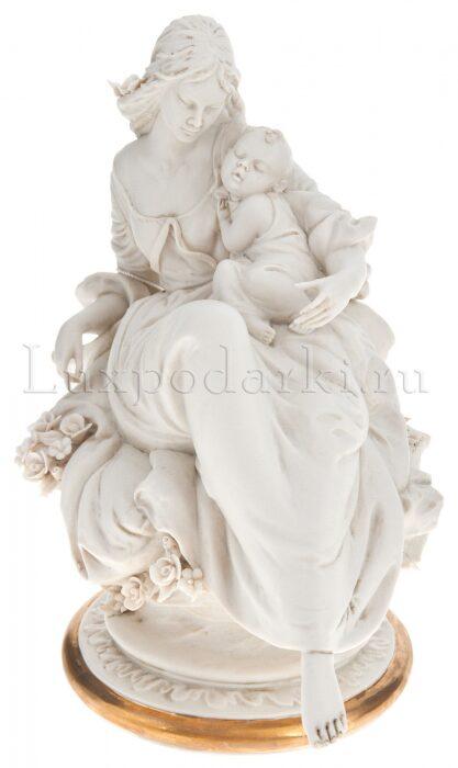 """Статуэтка  Porcellane Principe """"Мама с ребенком"""" - 1"""