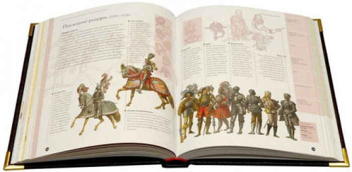"""Книга в кожаном переплете """"История мировых войн""""- 1"""