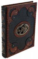 """Подарочная книга в кожаном переплете """"Мудрость Конфуция"""" Laccato python (в коробе)"""