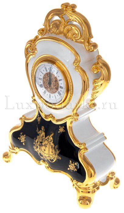 Часы, белые с синим рисунком Bruno Costenaro- 1