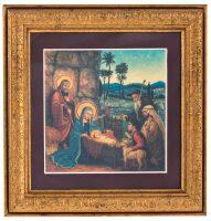 "Картина на сусальном золоте ""Рождество Христово"""