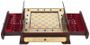 """Шахматы """"Стаунтон"""" с малахитом (Златоуст)- 1"""