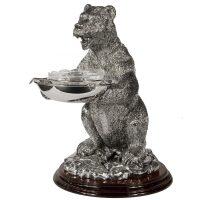 """Икорница  Chinelli """"Медведь"""""""