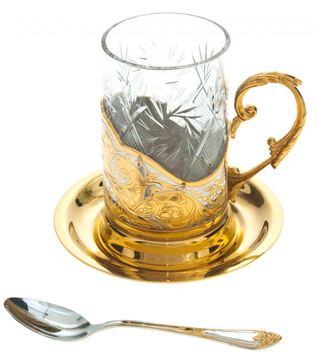 """Чайный набор """"Люкс"""" (Златоуст)- 0"""