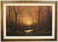 """Картина  Art Atelier """"Закат в лесу""""  Gnocchi"""