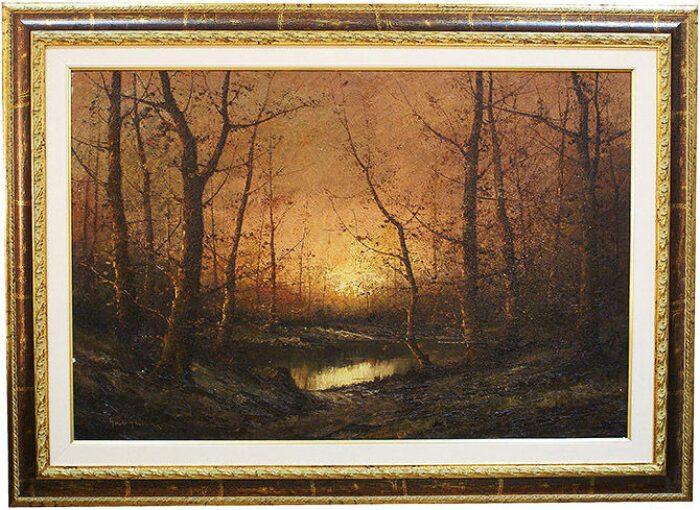 """Картина  Art Atelier """"Закат в лесу""""  Gnocchi- 0"""