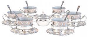 """Чайный сервиз  Chinelli """"Oriental""""  на 6 персон"""