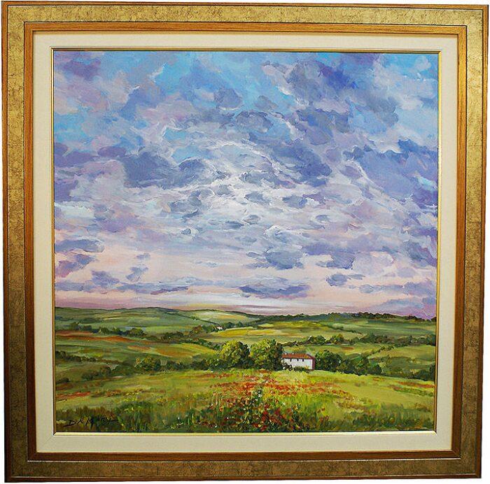 """Картина  Art Atelier """"Цветущее поле""""  Da Mari- 0"""