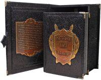"""Подарочная книга в кожаном переплете """"Настольная книга следователя. Репринт"""" (в коробе)"""