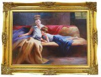 "Картина  Bertozzi Cornici ""Мама с дочкой за чтением"""