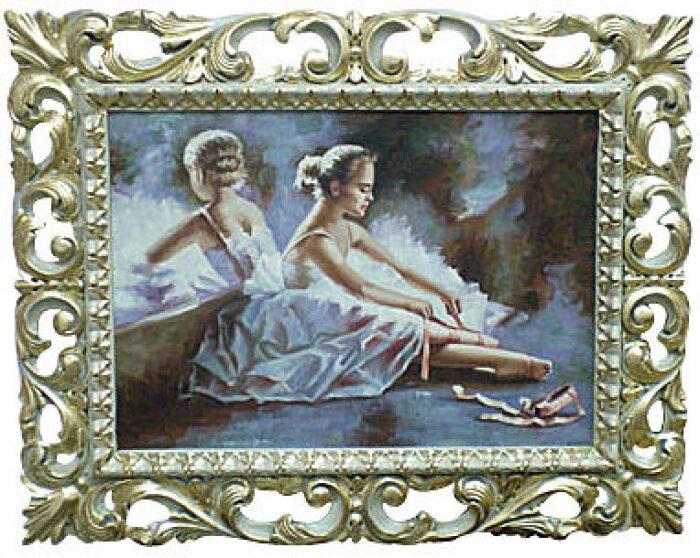 "Картина  Bertozzi Cornici ""Балерина у зеркала"" - 0"