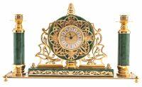 """Часы """"Царские"""" с подсвечниками"""