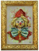 """Картина прямоугольная  Zampiva """"Клоун со звёздами"""""""