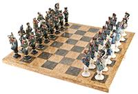 фарфоровые шахматы Бородино