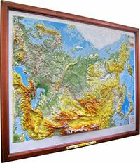 высокообъемная карта России